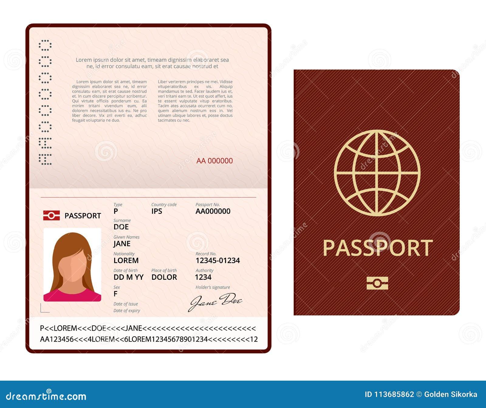 szablon zdjecia paszportowego