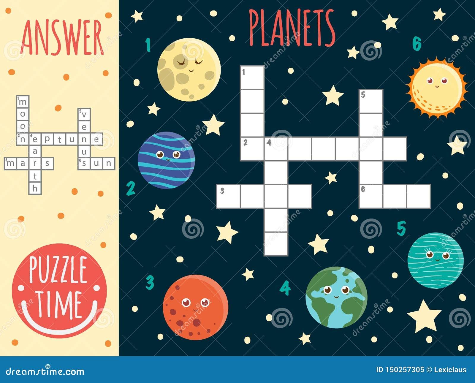 Wektorowej przestrzeni crossword