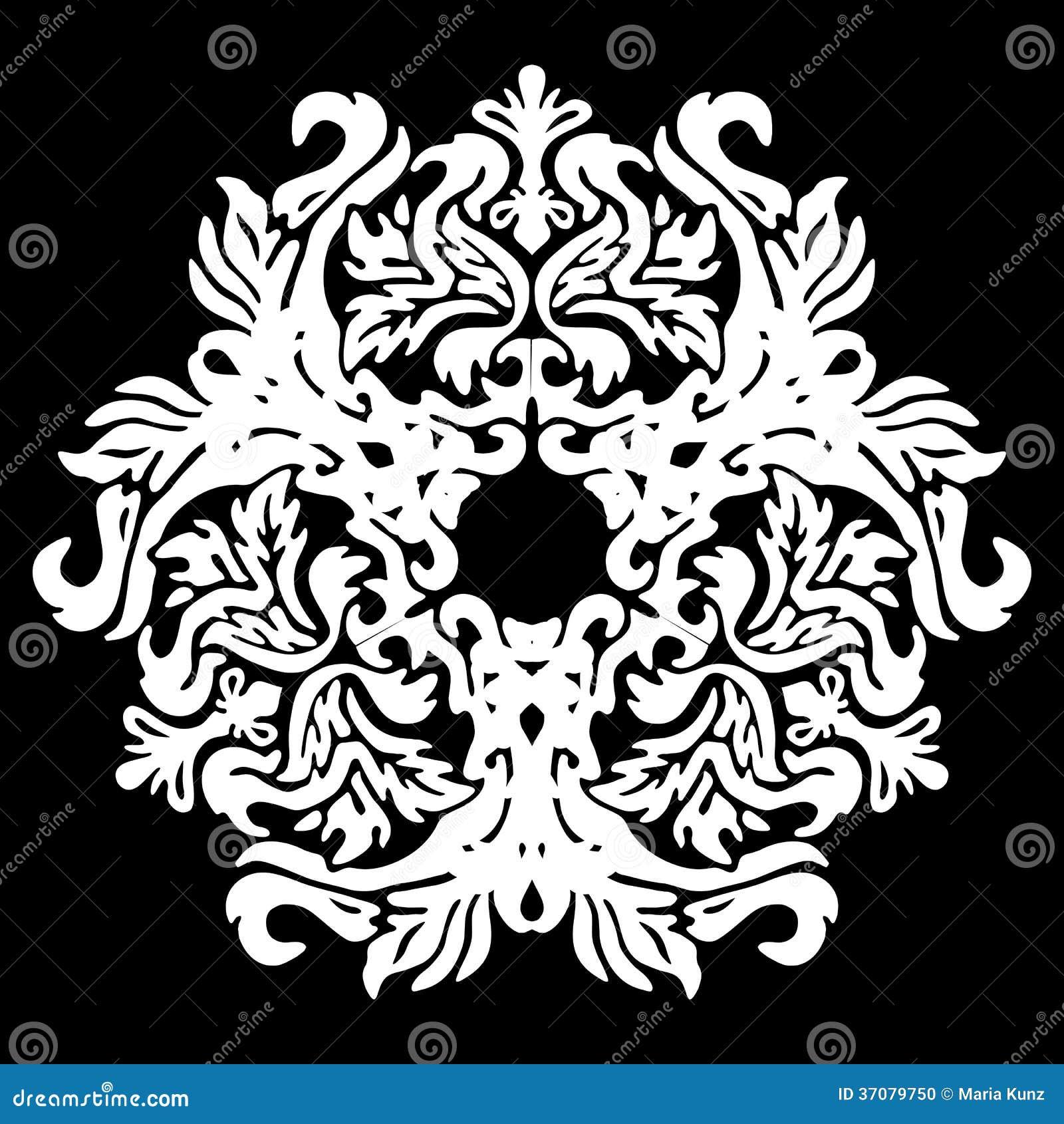 Download Wektorowi kwiatów wzory ilustracji. Ilustracja złożonej z abstrakt - 37079750