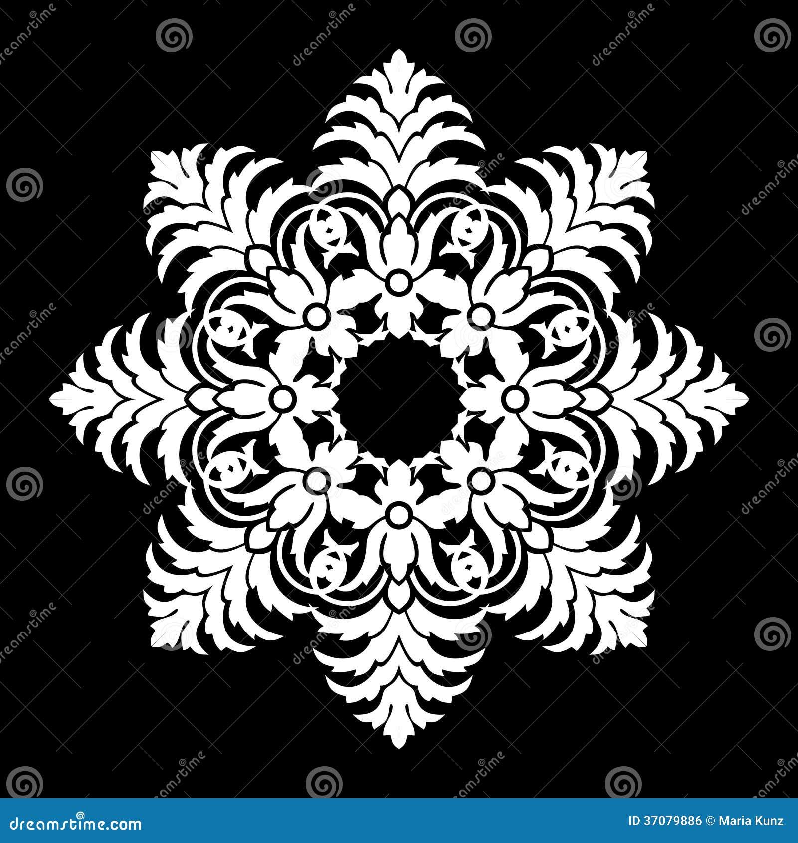 Download Wektorowi kwiatów wzory ilustracji. Ilustracja złożonej z granica - 37079886