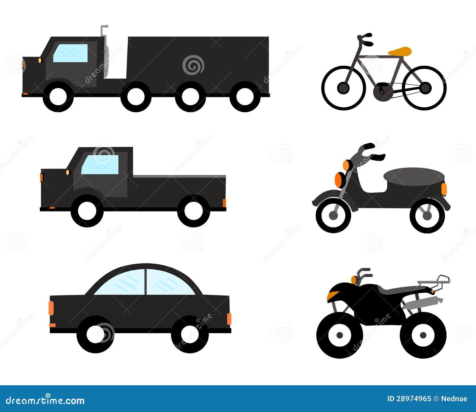 Wektorowi samochodowi symbole.