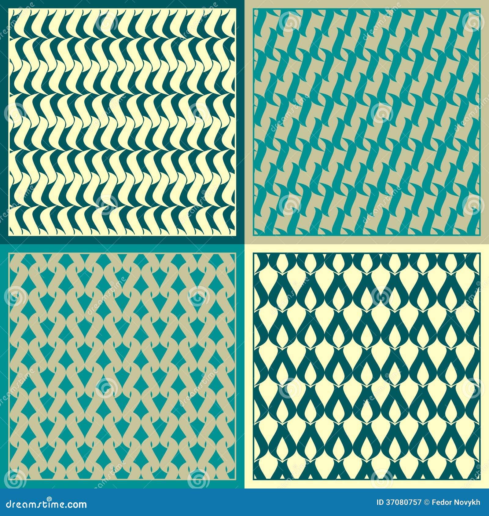 Download Wektorowi wzory ilustracja wektor. Ilustracja złożonej z wzór - 37080757