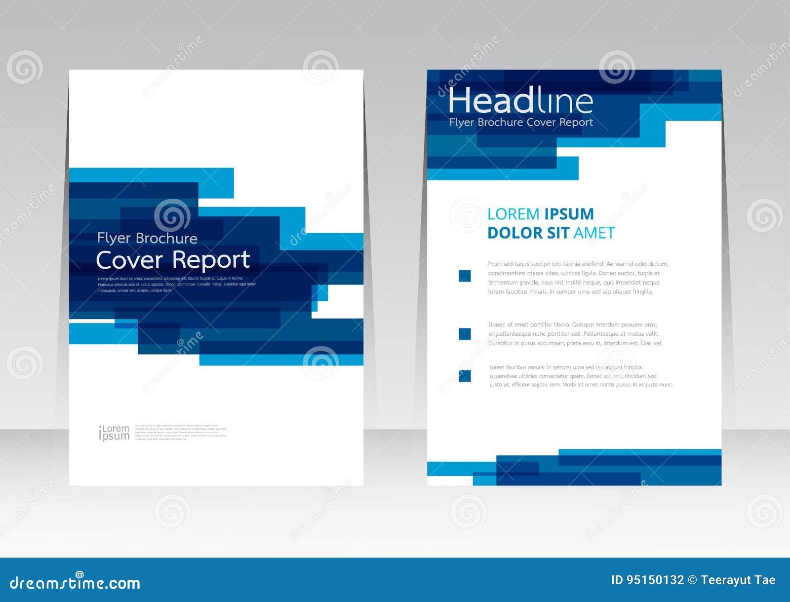Wektorowy abstrakcjonistyczny projekt ramowej pokrywy raportu plakata szablon