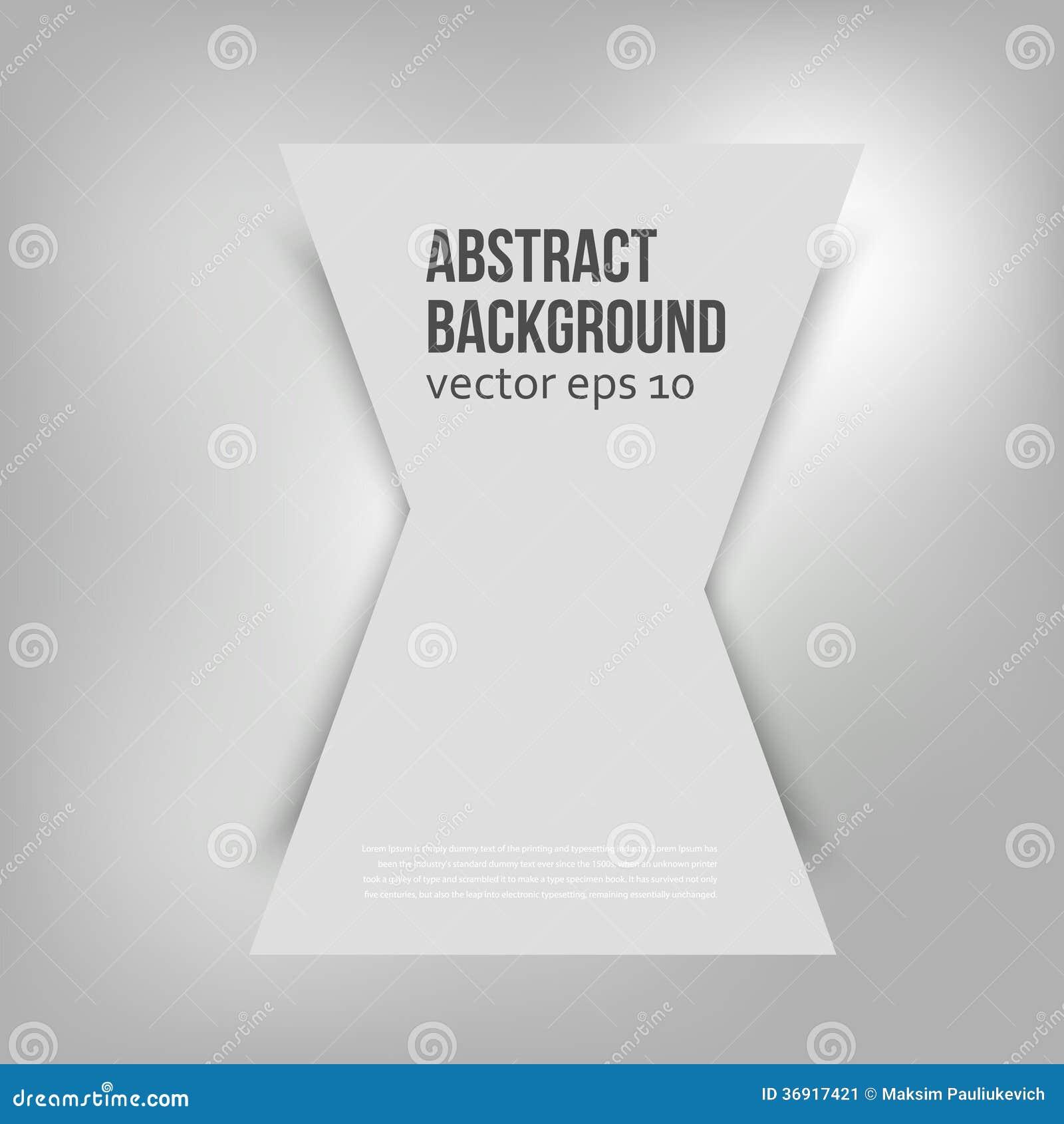 Wektorowy abstrakcjonistyczny tło. trójbok geometryczny