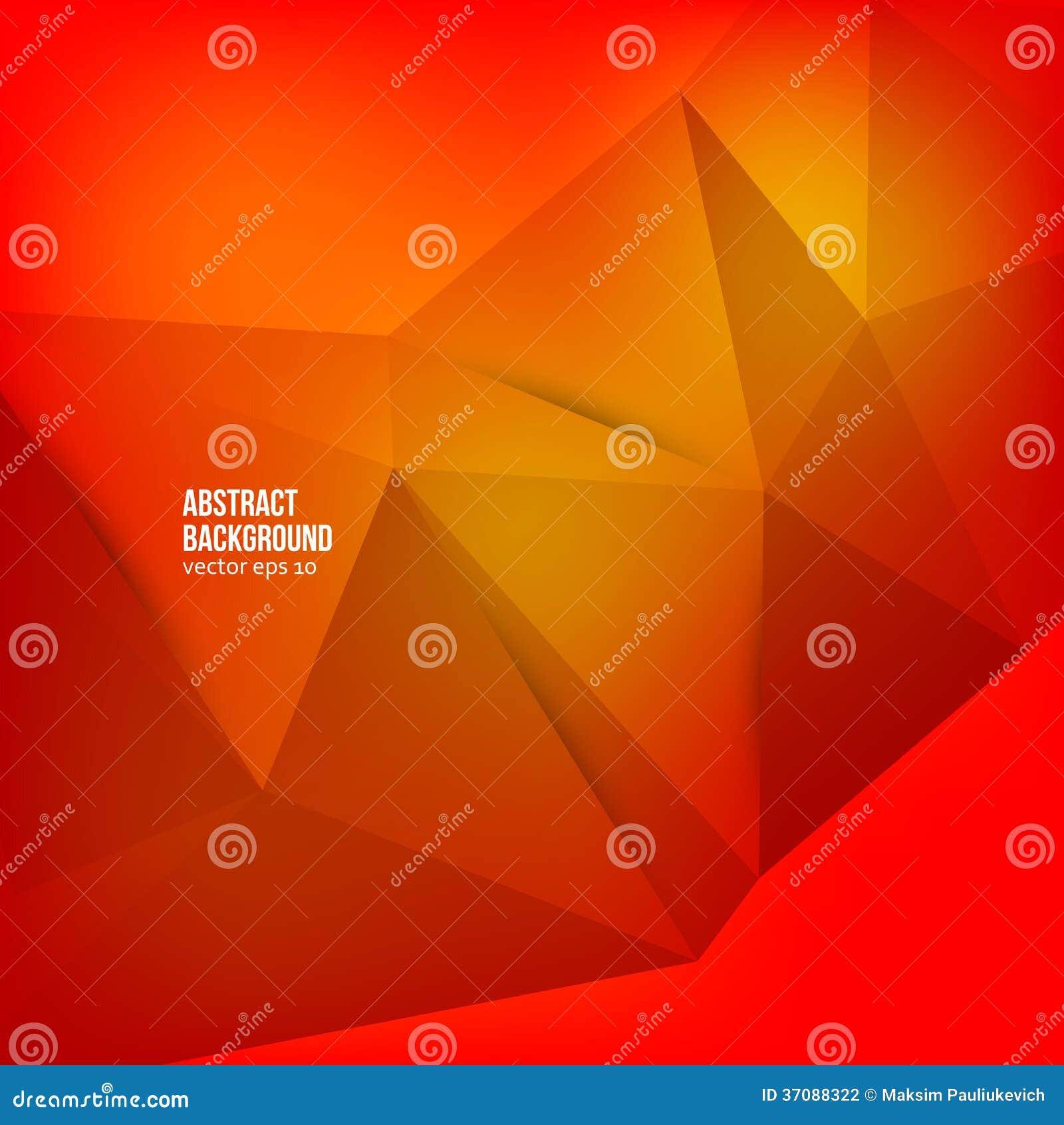 Download Wektorowy Abstrakcjonistyczny Tło. Origami Geometryczny Ilustracja Wektor - Ilustracja złożonej z śledzony, nowożytny: 37088322