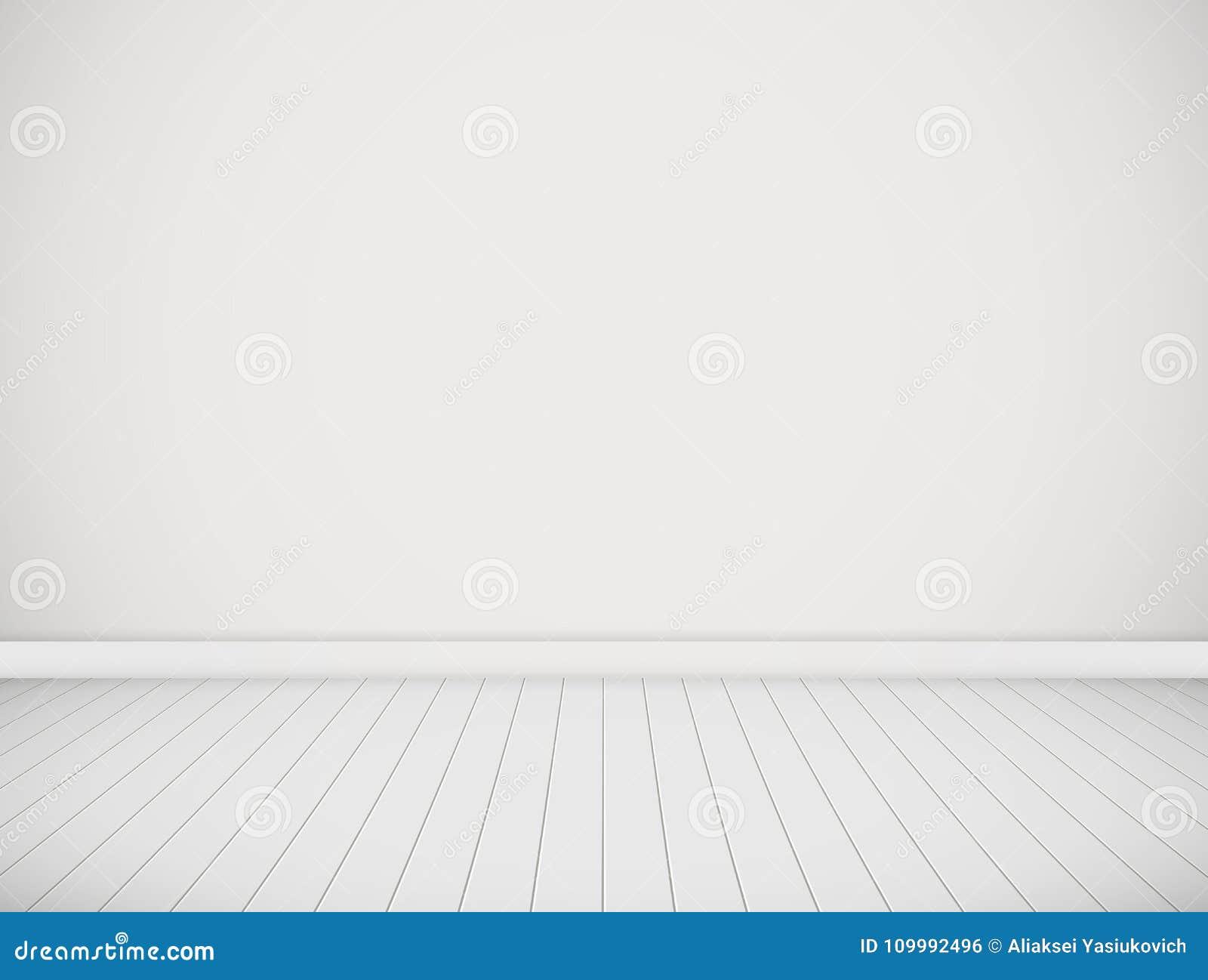 Wektorowy biały pokój