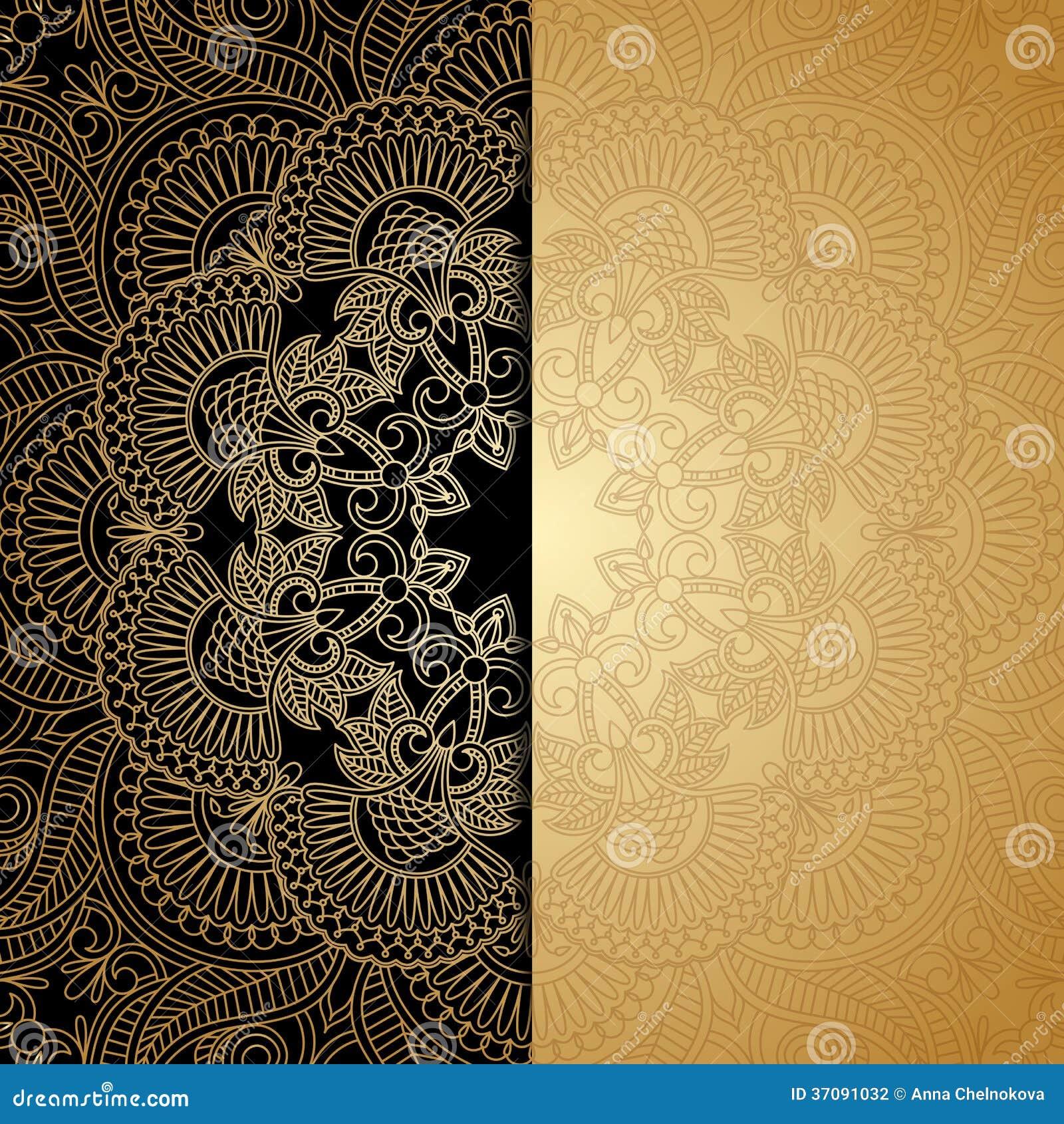 Download Wektorowy Kartka Z Pozdrowieniami. Ilustracja Wektor - Ilustracja złożonej z złoto, wita: 37091032