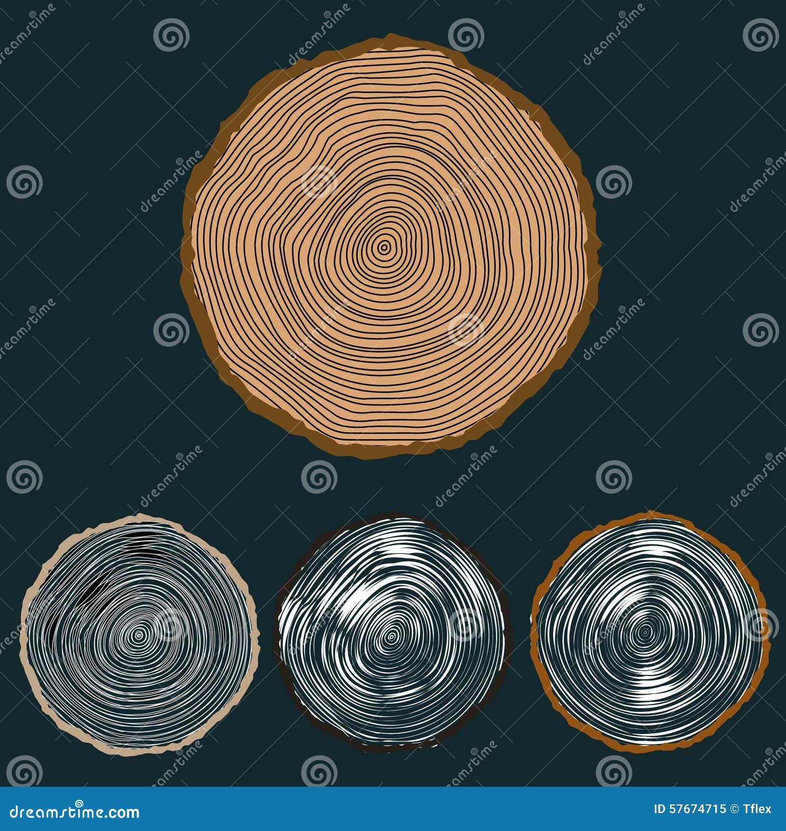 Wektorowy konceptualny tło z pierścionkami