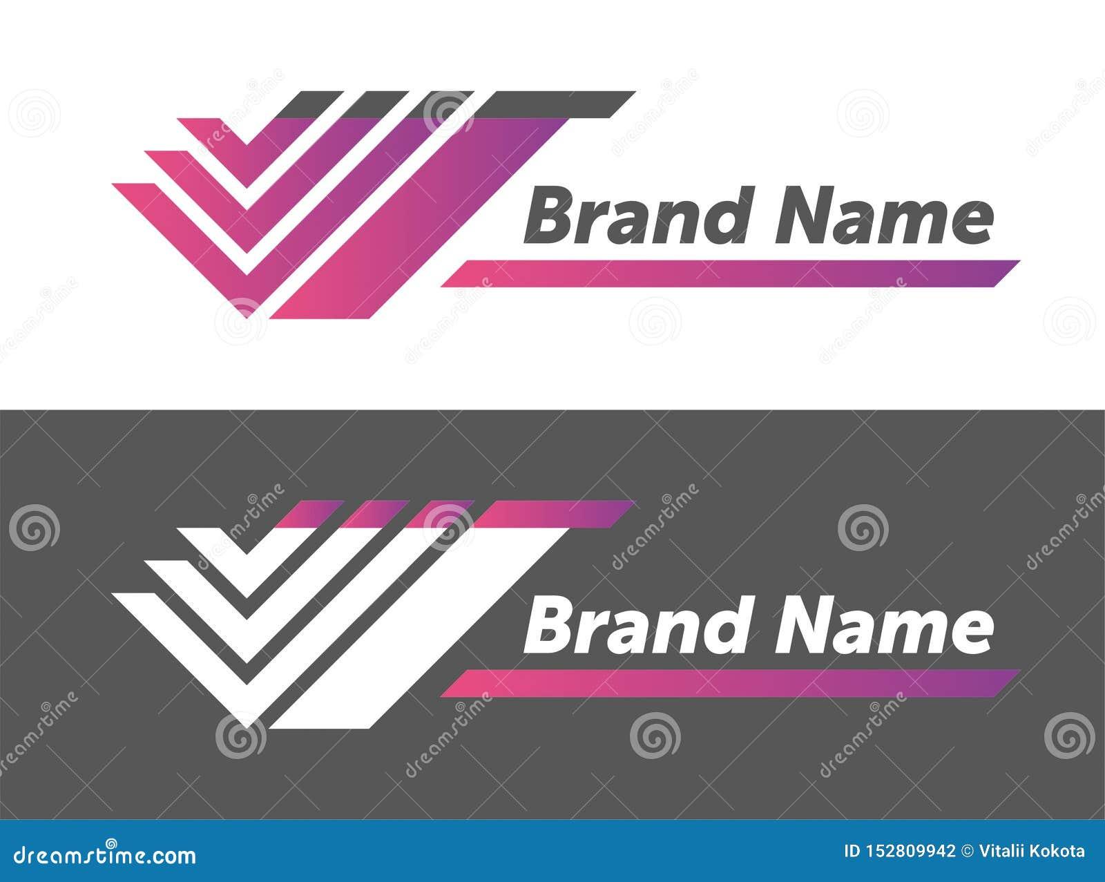 Wektorowy loga projekt twój gatunku imienia projekt kreatywnie projektuje logotyp