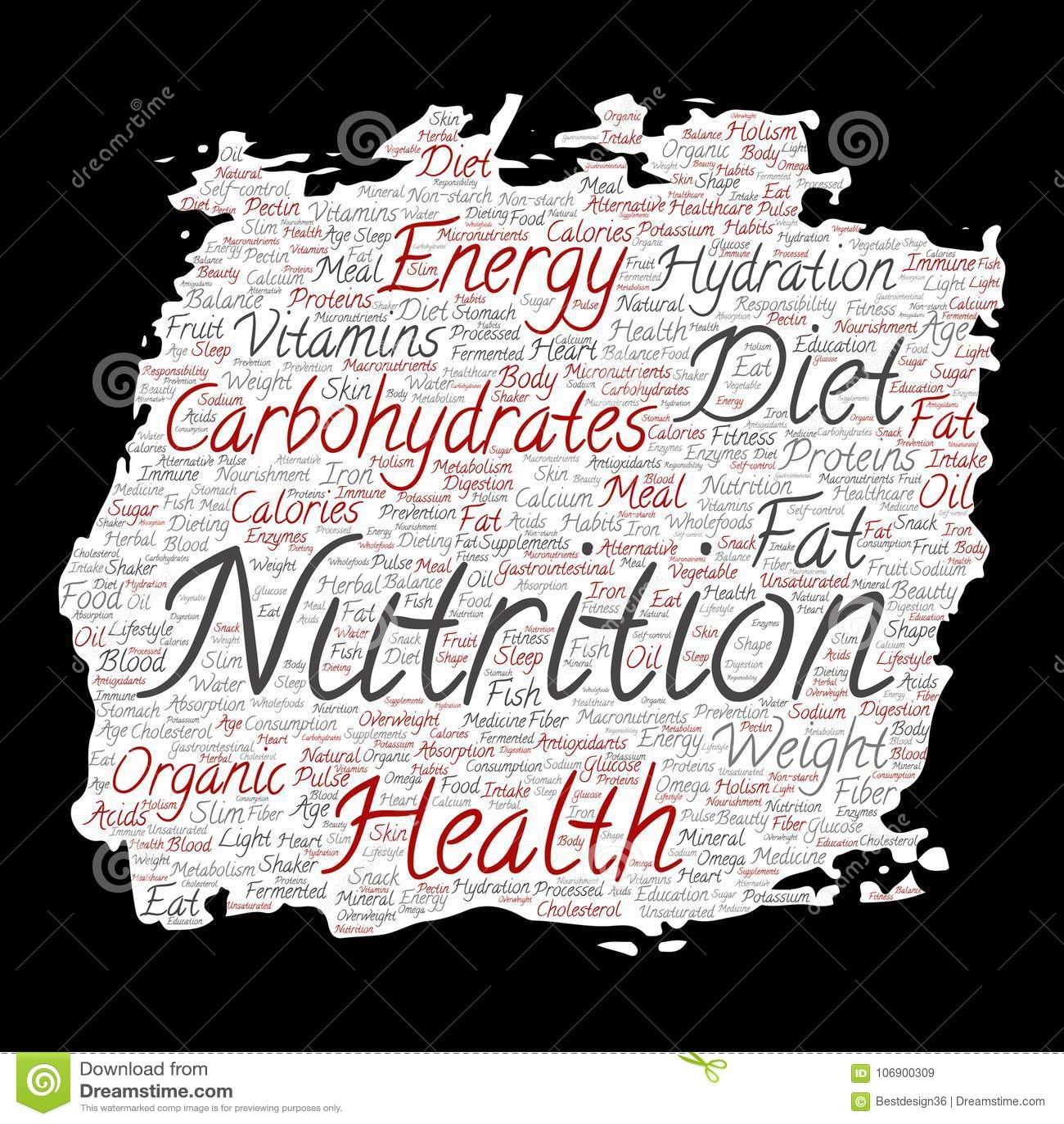 Wektorowy odżywiań zdrowie diety farby muśnięcia papier