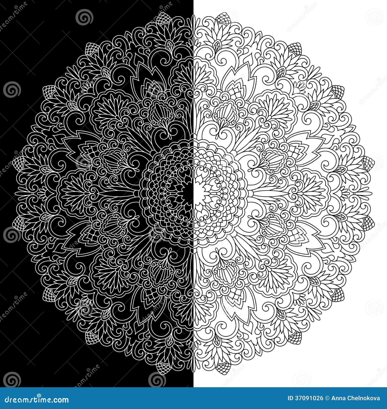 Download Wektorowy ornament. ilustracja wektor. Ilustracja złożonej z ilustracje - 37091026