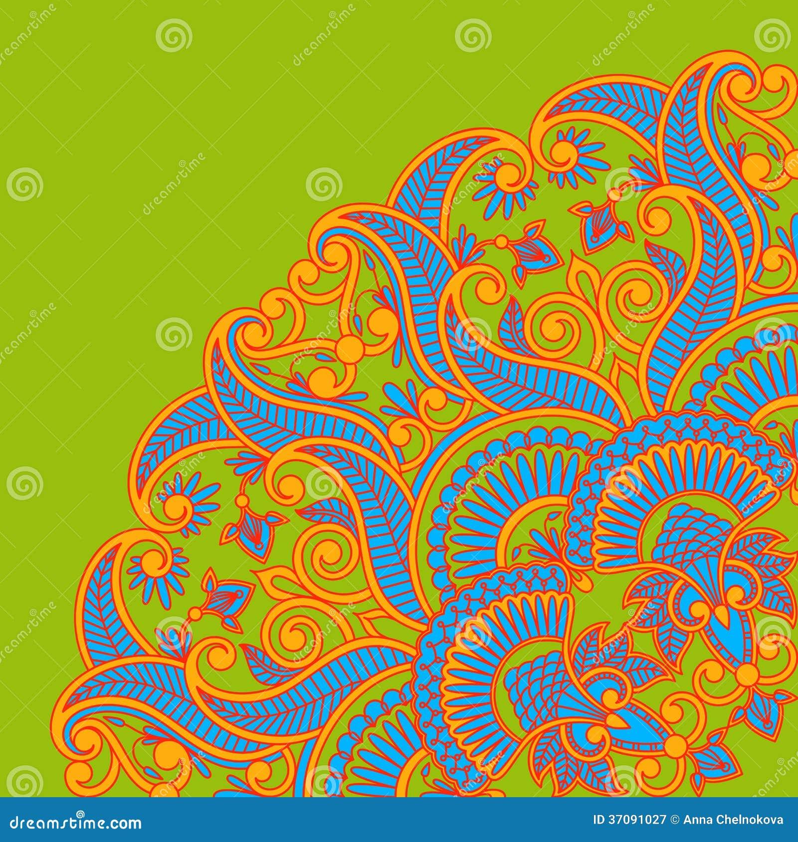 Download Wektorowy ornament. ilustracja wektor. Ilustracja złożonej z wakacje - 37091027