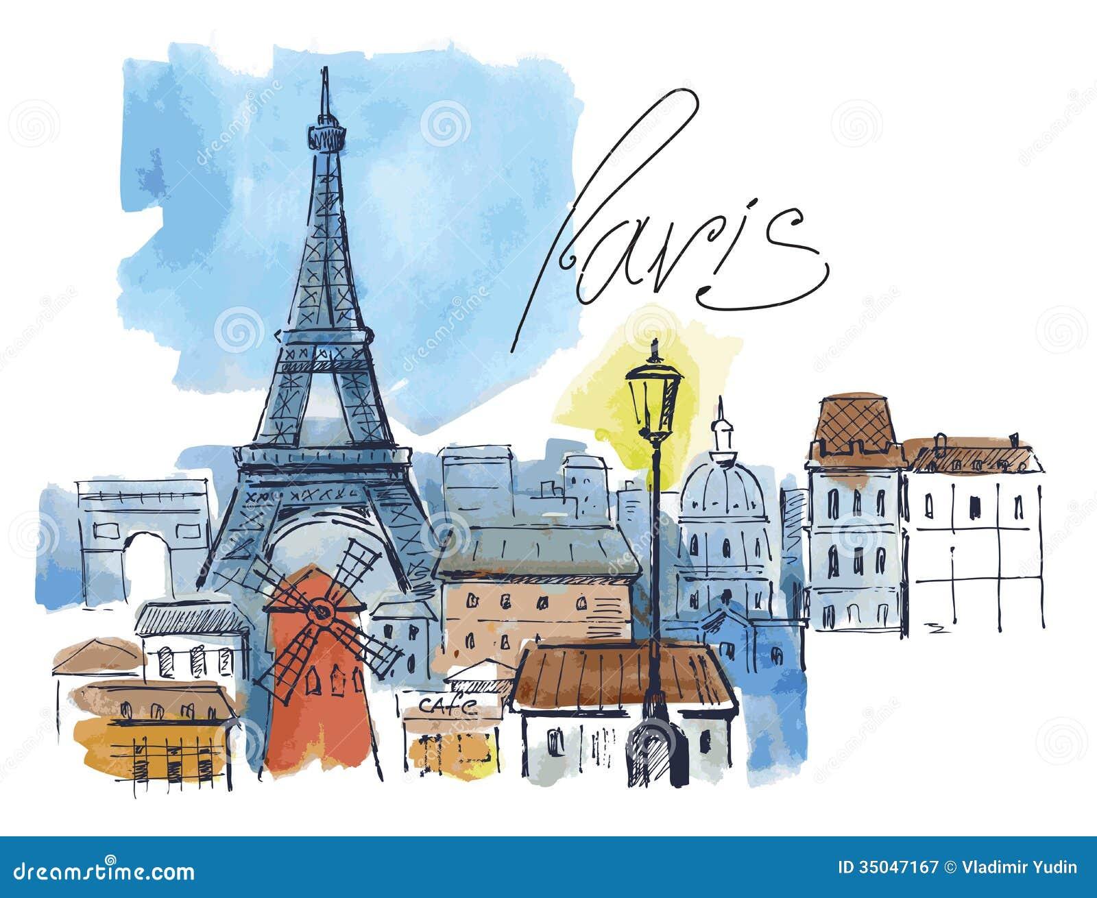 Wektorowy Paris