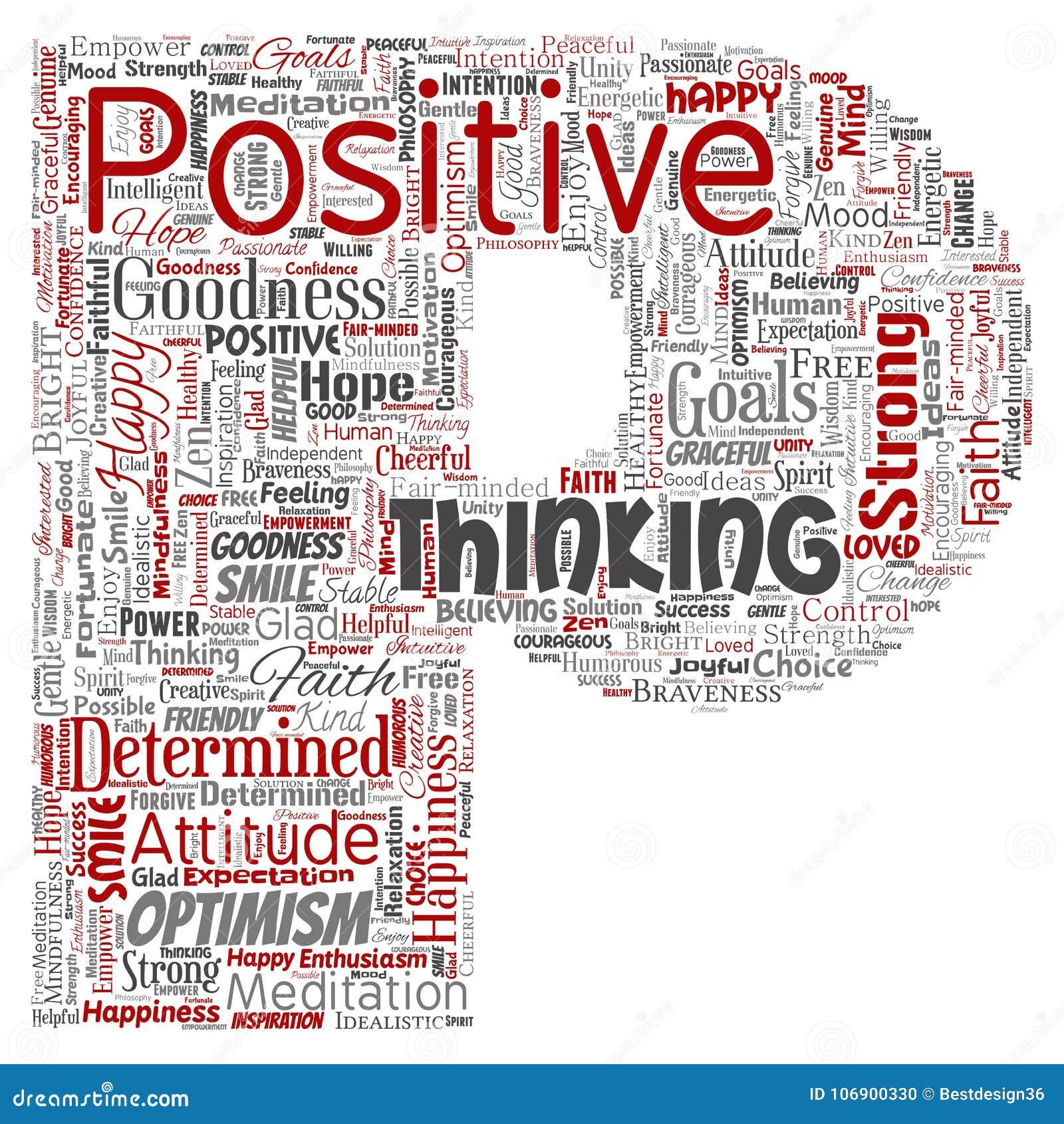 Wektorowy pozytywny główkowanie, szczęśliwa silna postawa listu chrzcielnica P