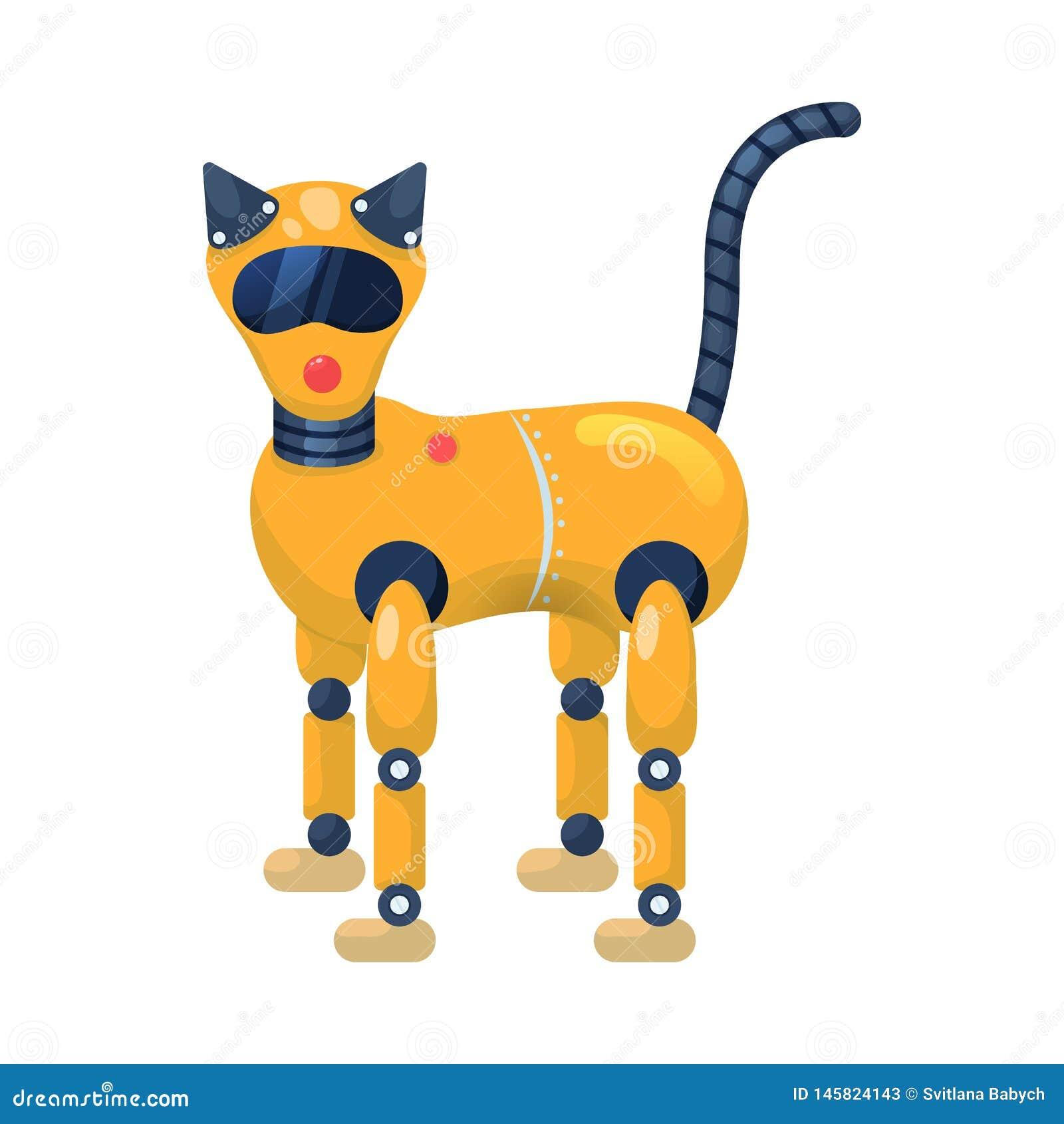 Wektorowy projekt kota i zwierzęcia logo Kolekcja kot i plastikowy akcyjny symbol dla sieci