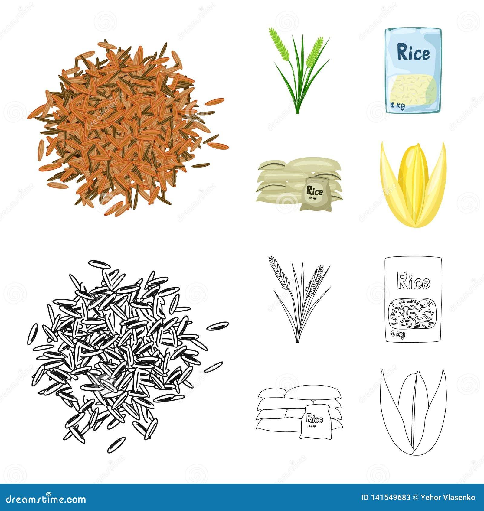 Wektorowy projekt uprawa i ekologiczny logo Kolekcja uprawa i kucharstwo akcyjny symbol dla sieci