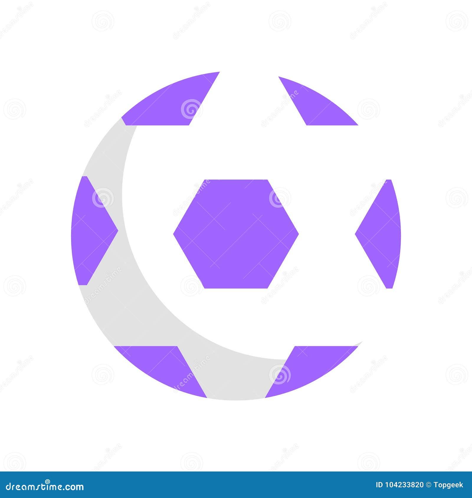 Wektorowy szablon Futbolowa piłka dla dzieci