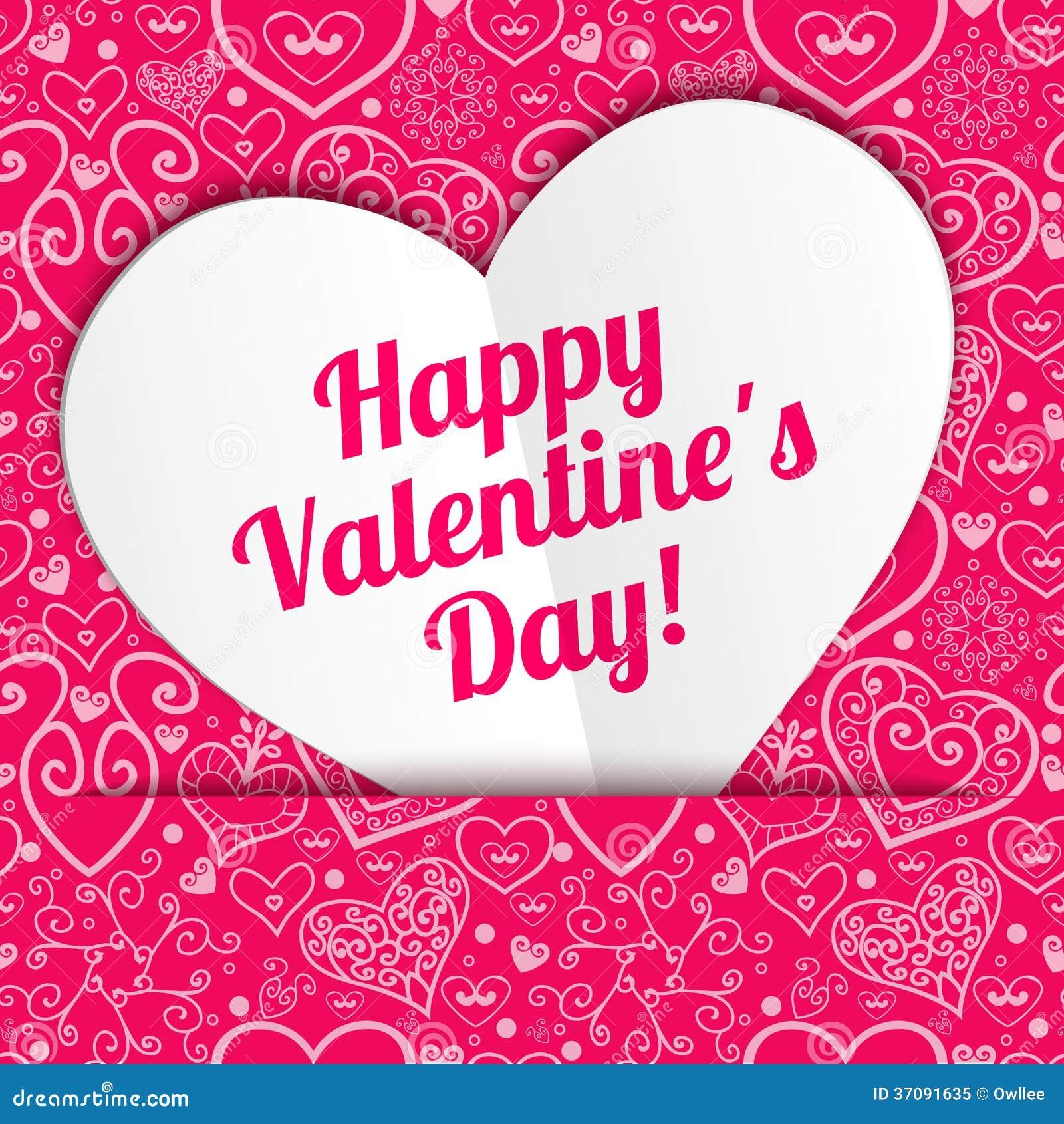 Download Wektorowy Walentynka Dnia Koronkowy Papierowy Kierowy Powitanie Ilustracja Wektor - Ilustracja złożonej z rama, kwiecisty: 37091635
