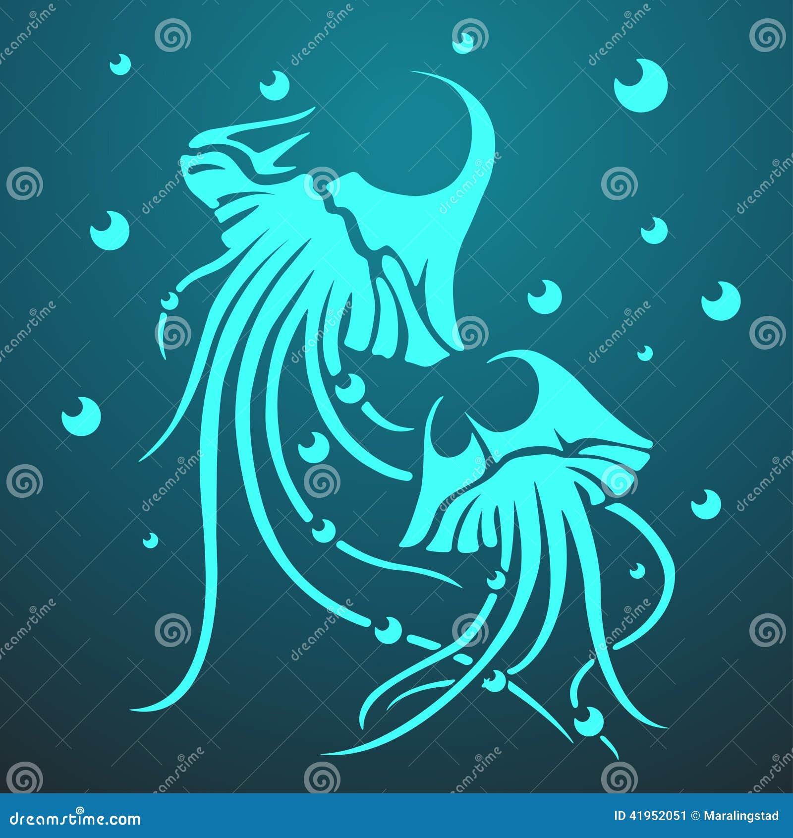 Wektoru dwa meduzy