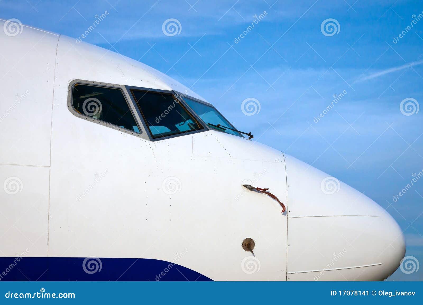 Wekzeugspritze eines Flugzeuges