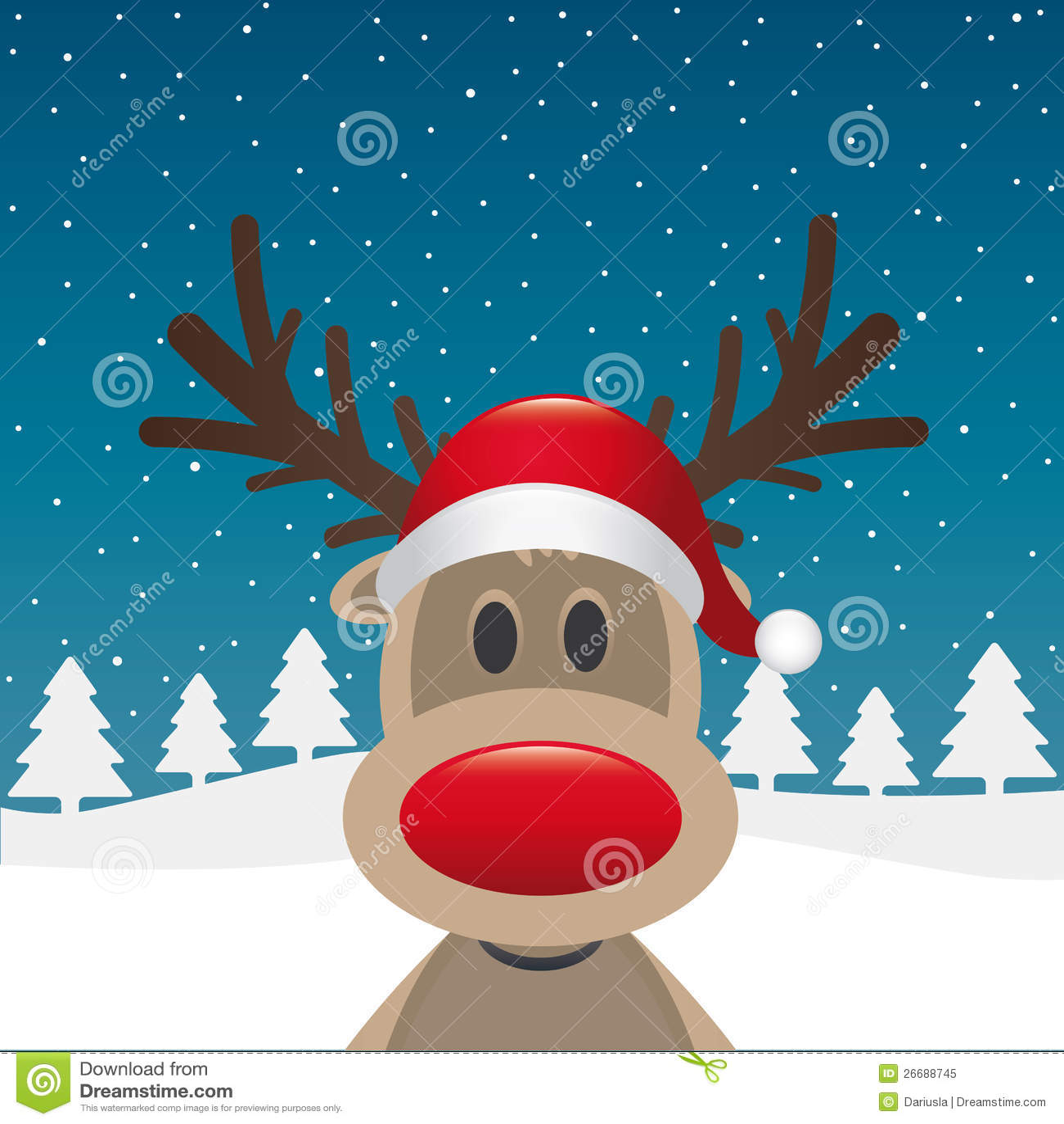 Wekzeugspritzen-Weihnachtsmann-Hut des Rens roter