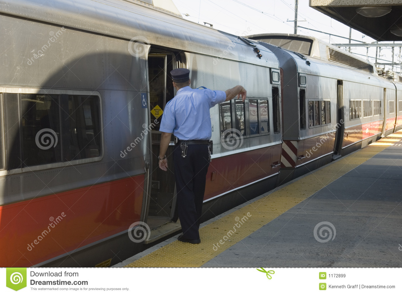 Welcome Aboard Stock Image Image Of Train Strength Transportation