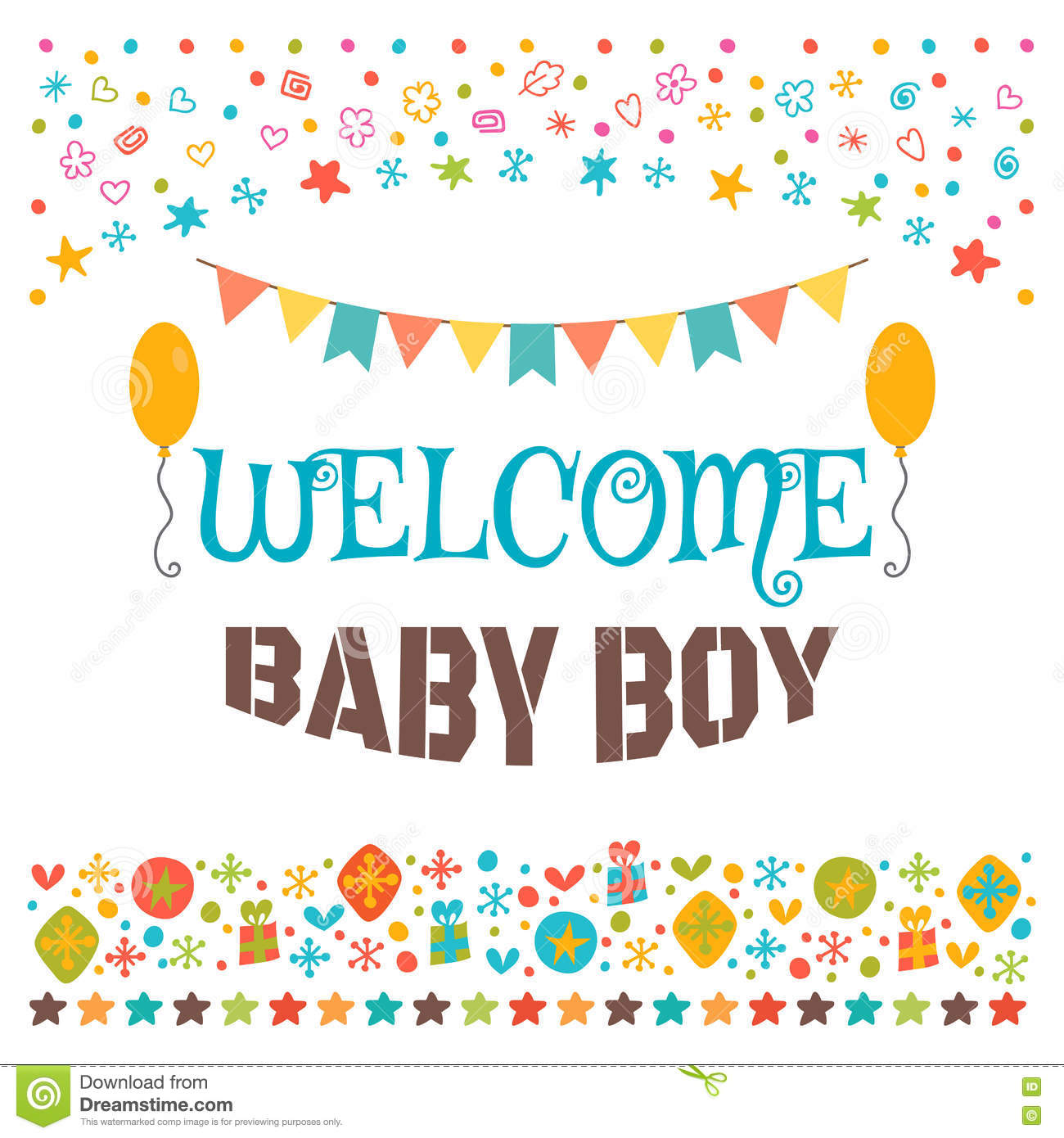 Baby Welcome Party Invitation is beautiful invitation template