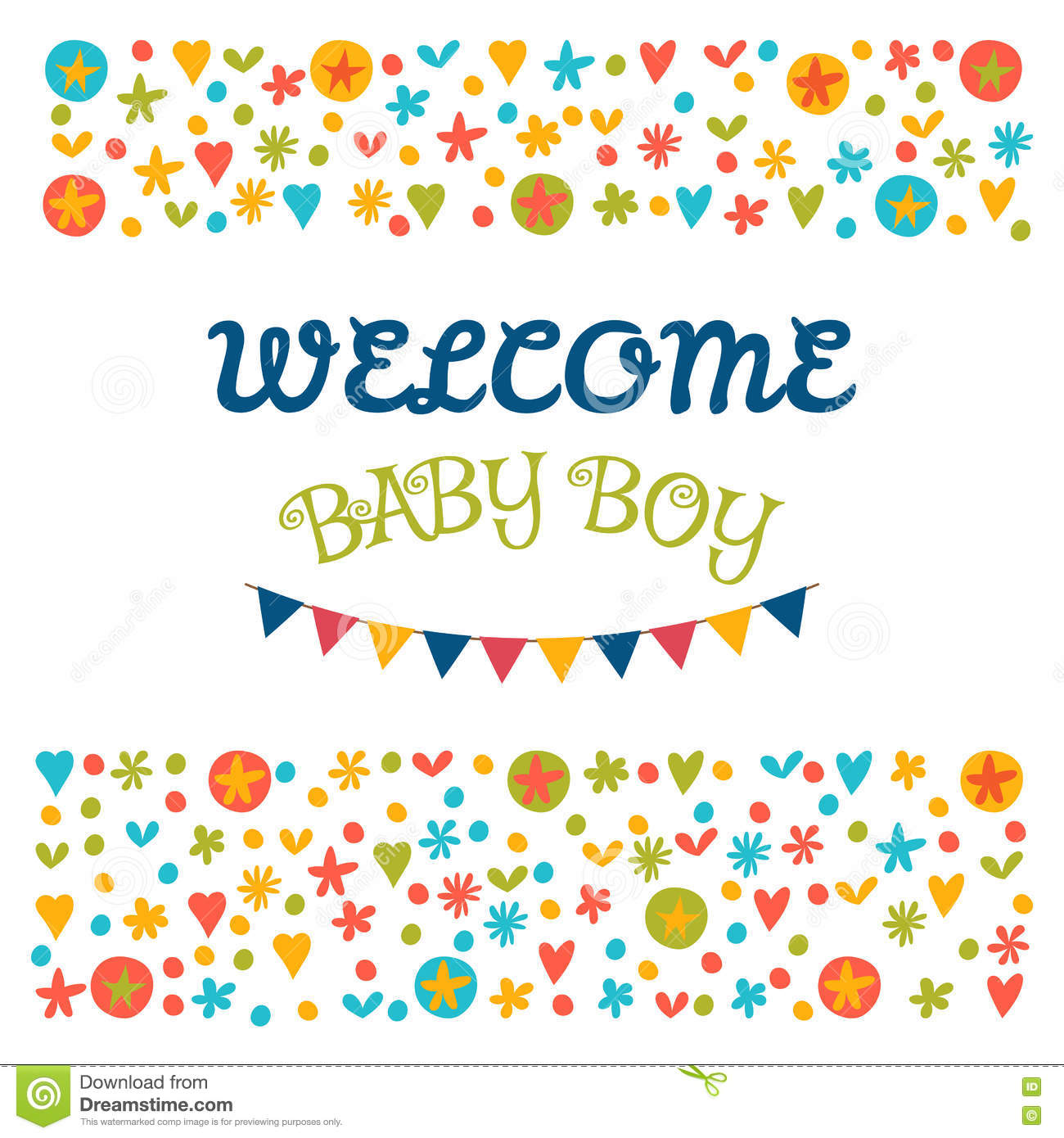 Welcome baby boy baby shower greeting card baby boy shower car download welcome baby boy baby shower greeting card baby boy shower car stock vector m4hsunfo