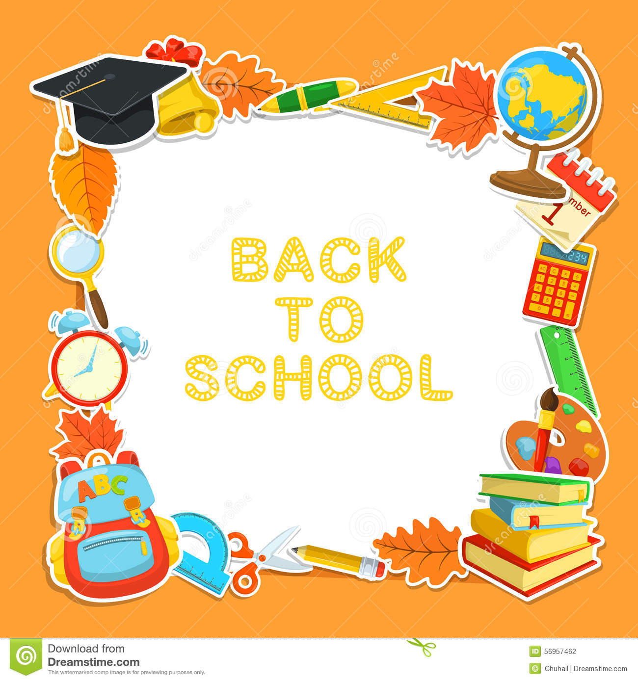 Welcome Back To School Stock Vector Illustration Of Classroom