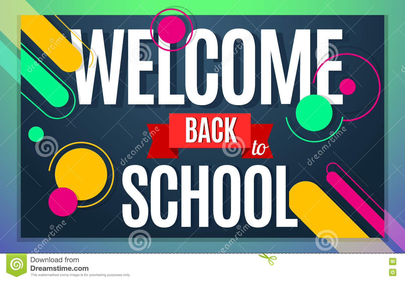 Welcome Back Banner Template Welcome Back Poster Banner Greeting