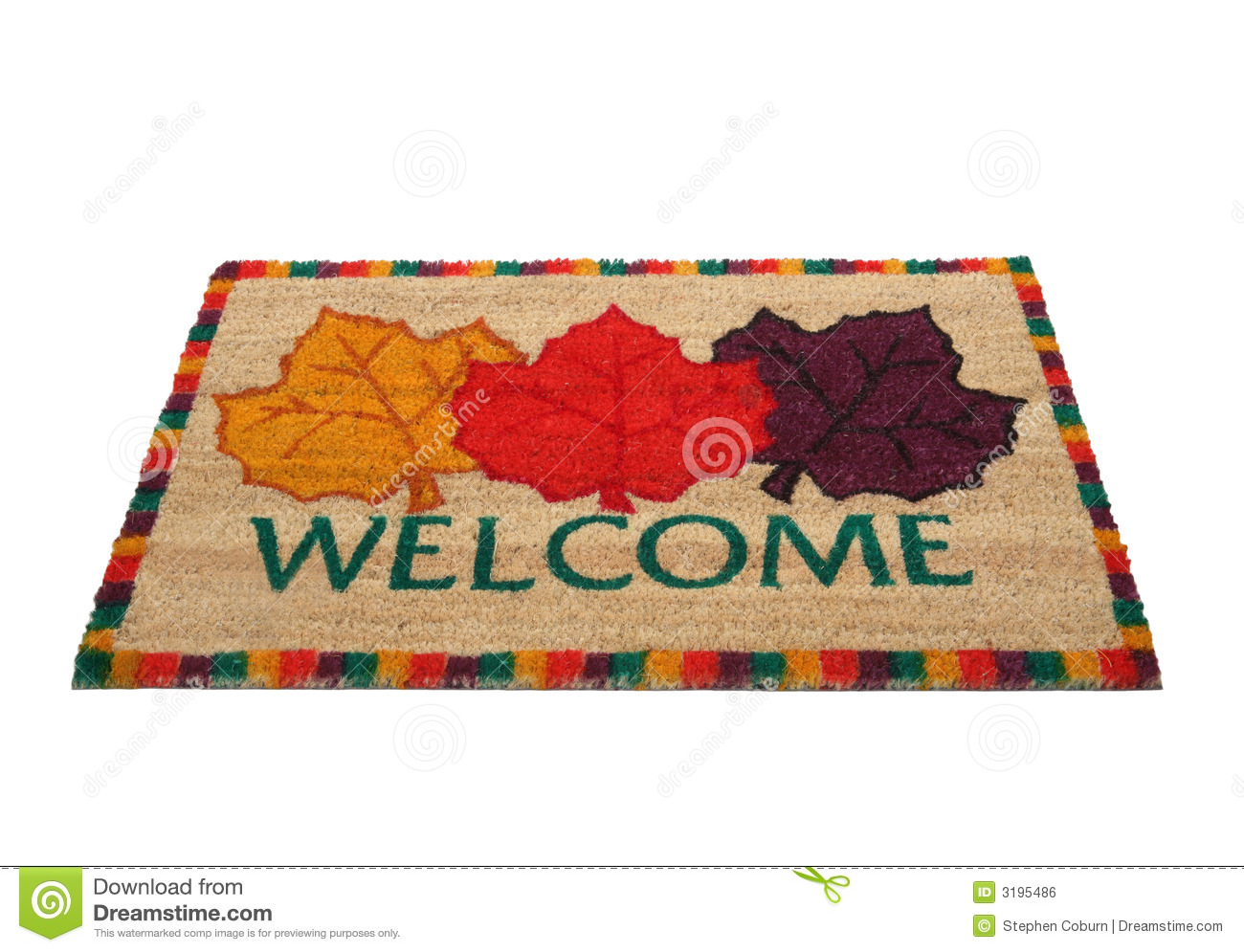 Welcome Doormat Royalty Free Stock Image Image 3195486