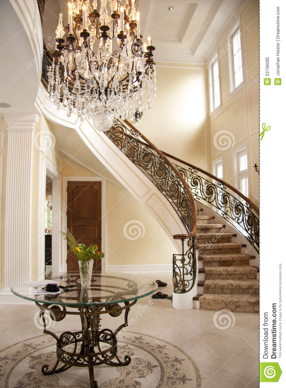 Superior Grand Entrances #2: Welcome Entrance Grand Multi Million Dollar  House Interior Photography Job 33706085