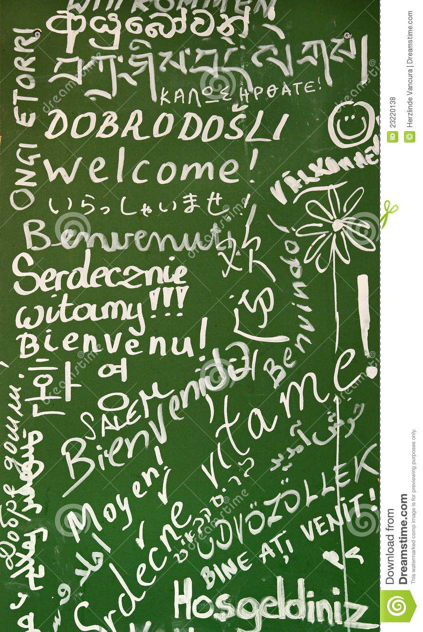 Welcome in many languages stock photo image of hello 23220138 welcome in many languages m4hsunfo