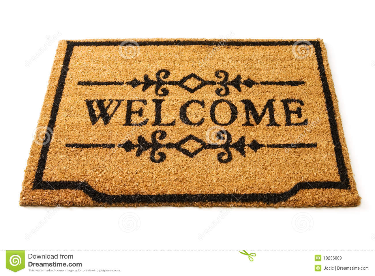 Welcome Mat Stock Image Image Of Deck Arrival Feet