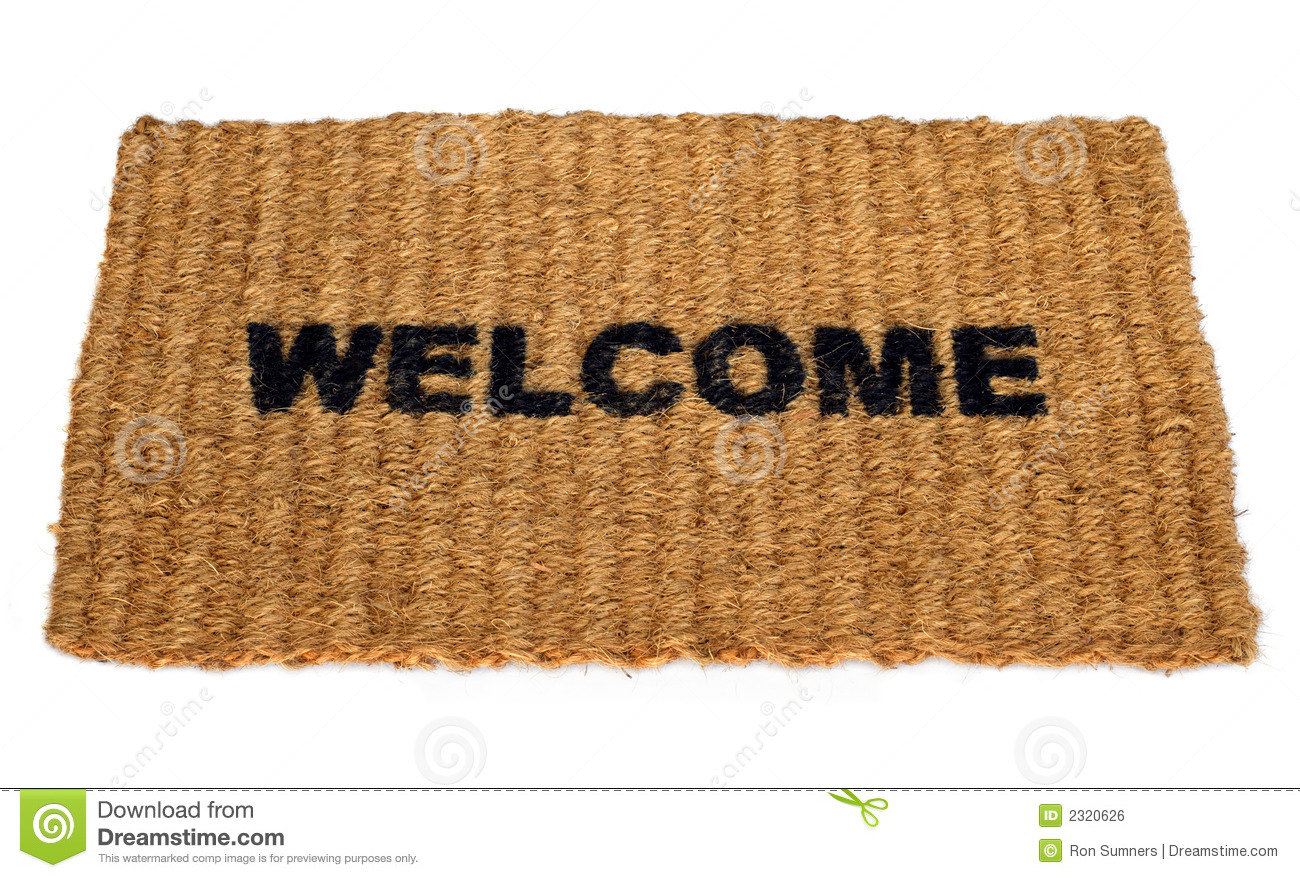 Welcome Mat Royalty Free Stock Image Image 2320626