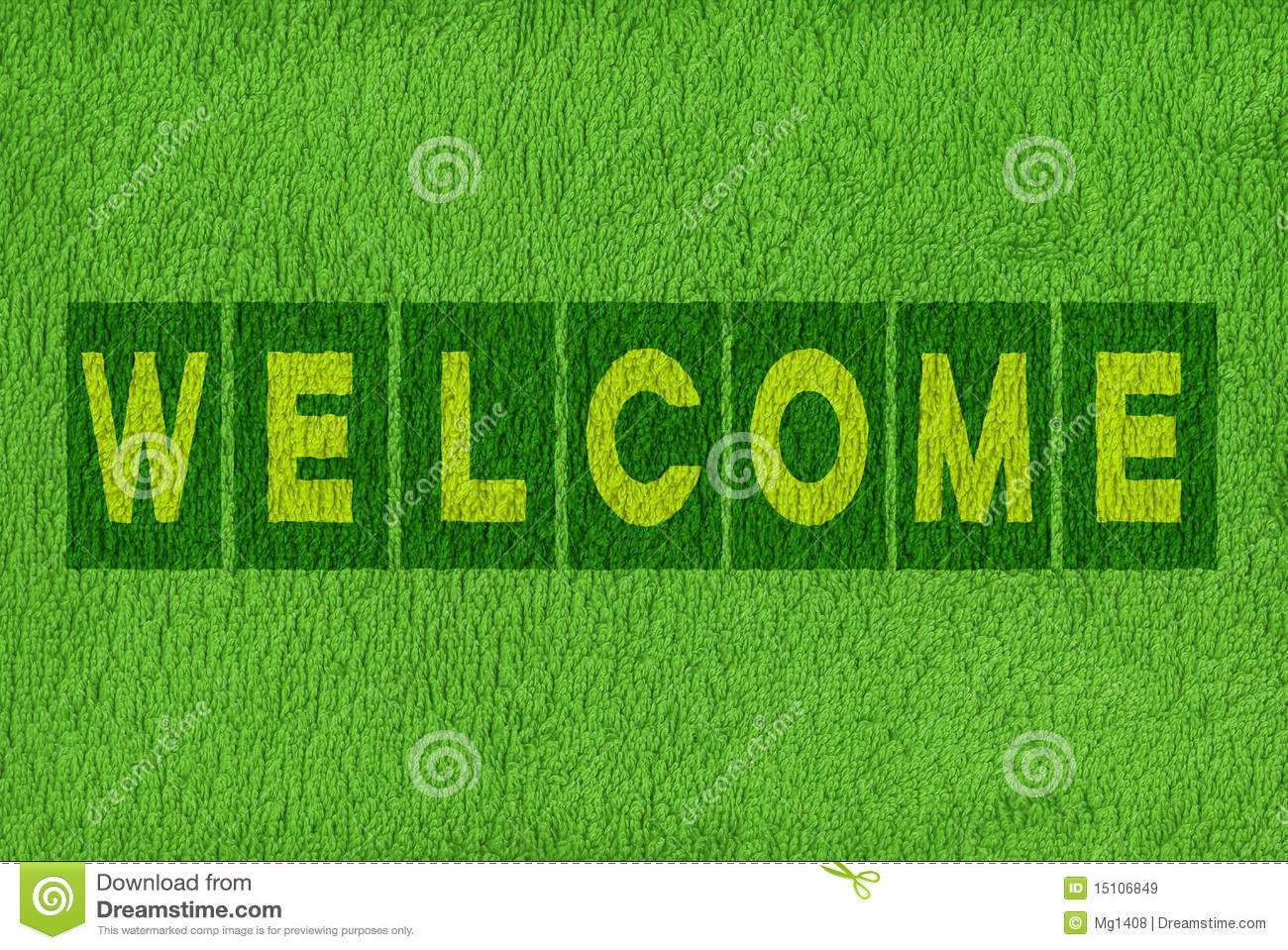 Welcome Message Background Royalty Free Stock Images