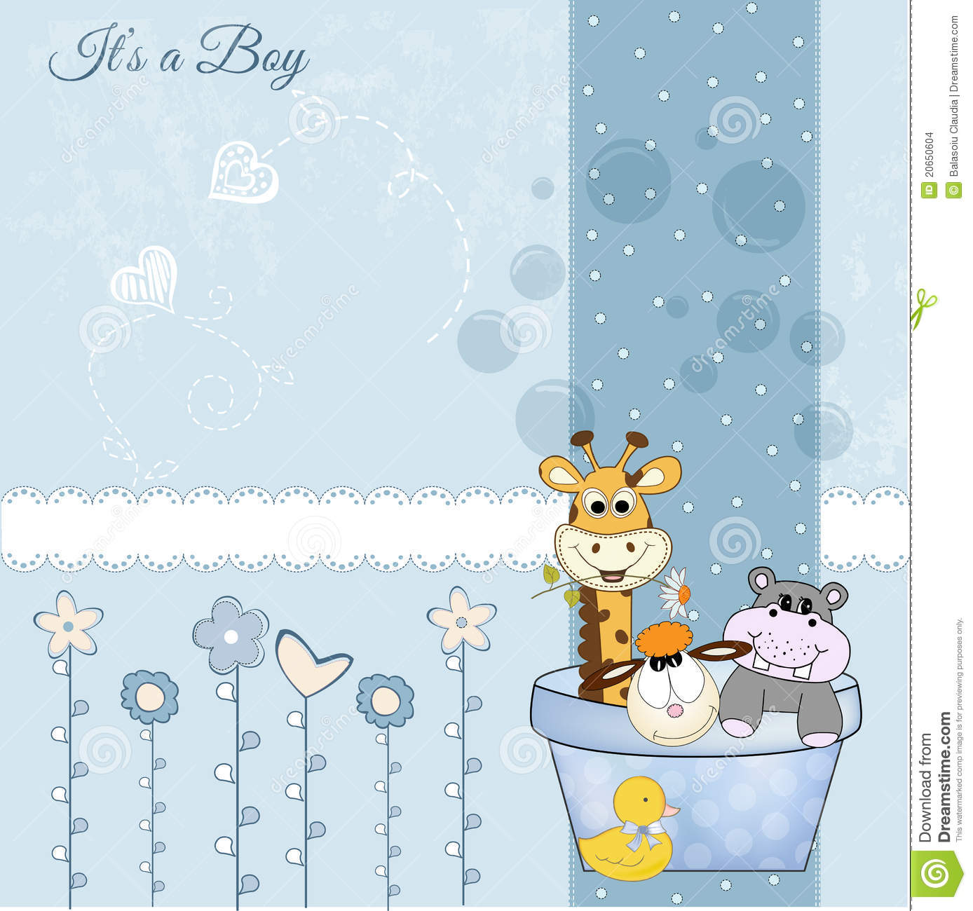 Welcome New Baby Boy Stock Images Image 20650604