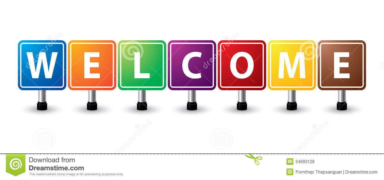 Welcome Sign Royalty Free Stock Photos - Image: 34693128