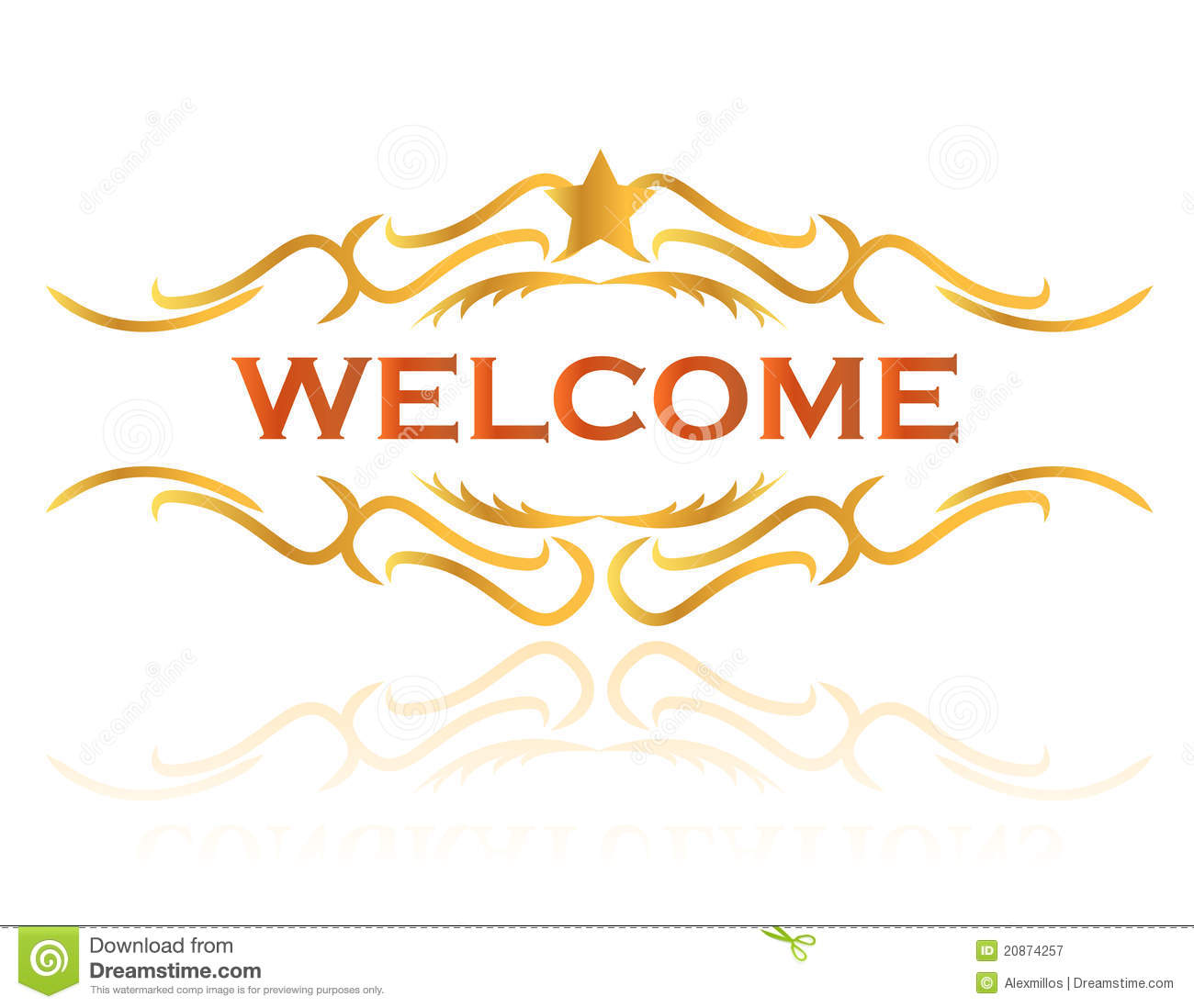 welcome sign design royalty free stock photography image