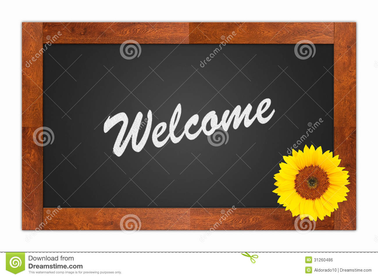 Welcome Sign Stock Illustration Image Of Home Signpost