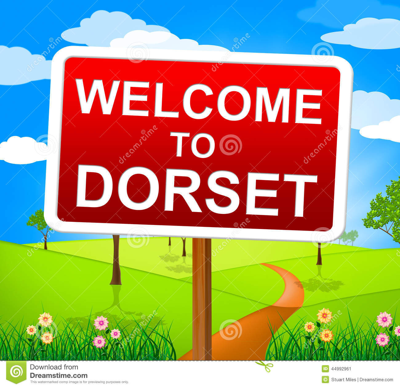 Welcome To Dorset Shows United Kingdom And Outdoor Stock