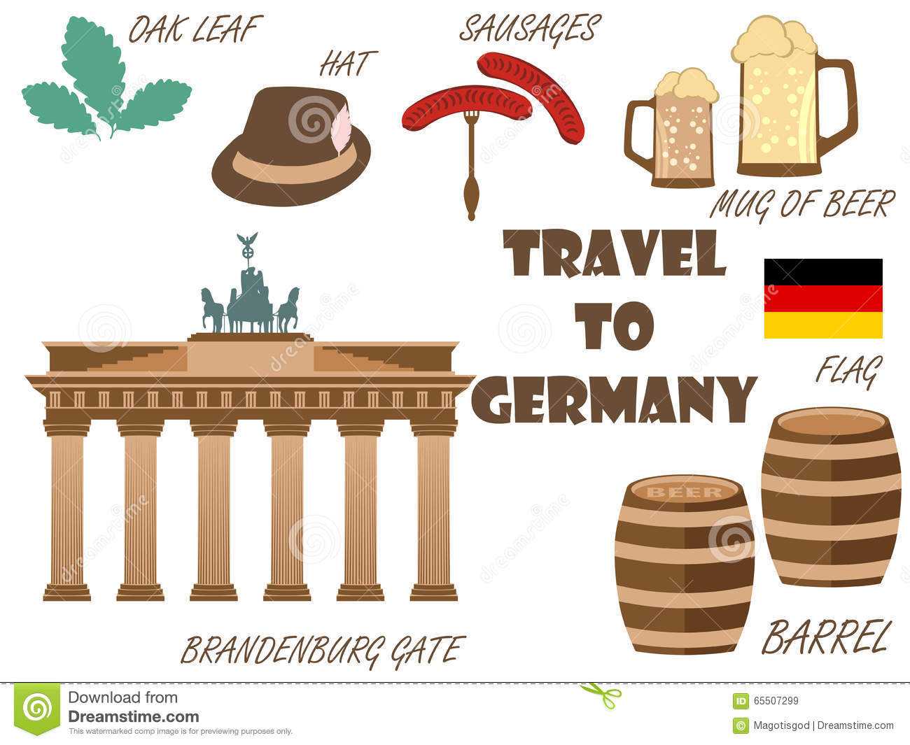welcome to germany symbols of germany tourism and