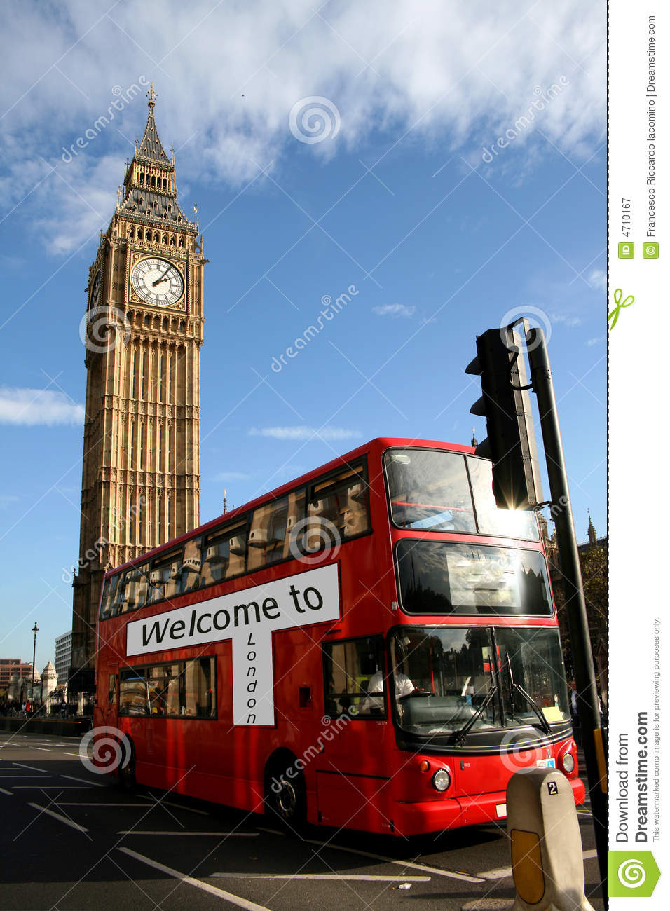 Welcome to london,bus & bigben