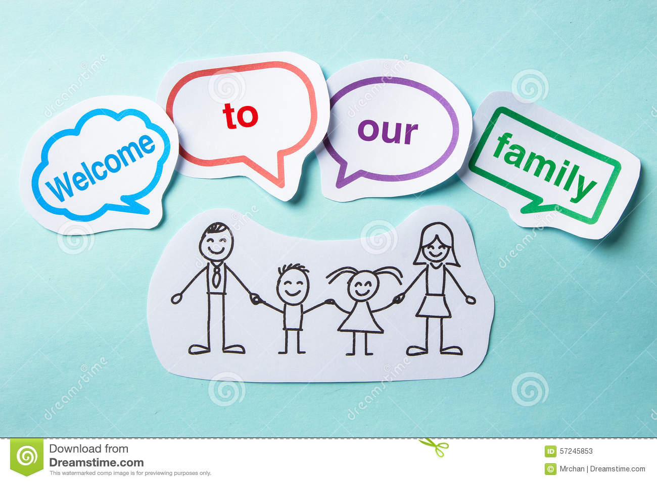 welcome to our family speech