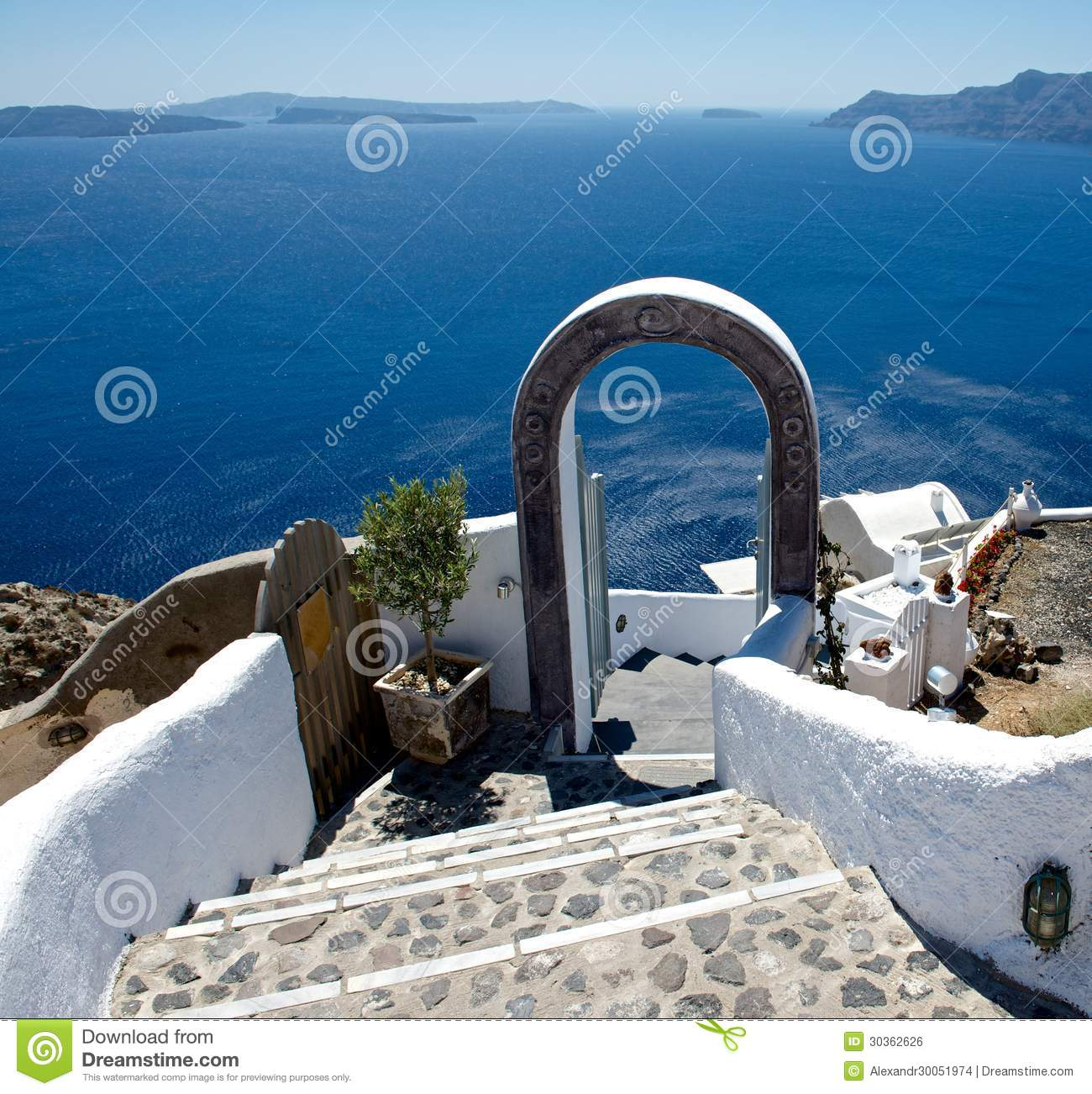 Welcome to santorini royalty free stock image image for Terraces opening times