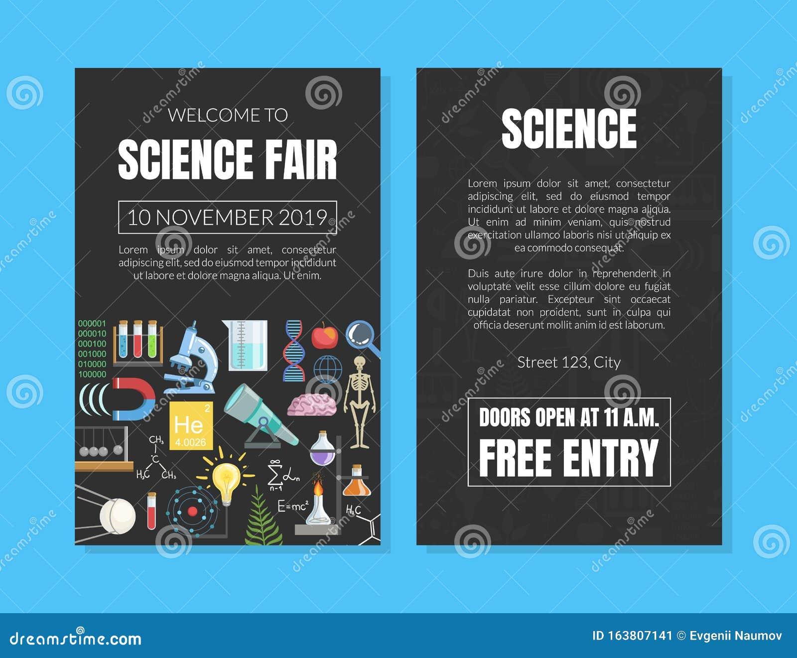 Science Fair Banner Stock Illustrations – 21 Science Fair Banner In Science Fair Banner Template
