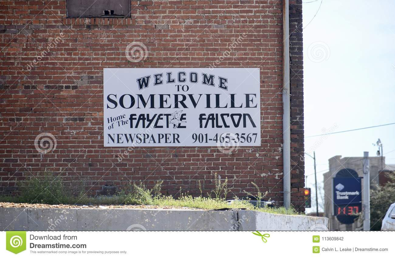 Welcome To Somerville From The Fayete Falcon Editorial