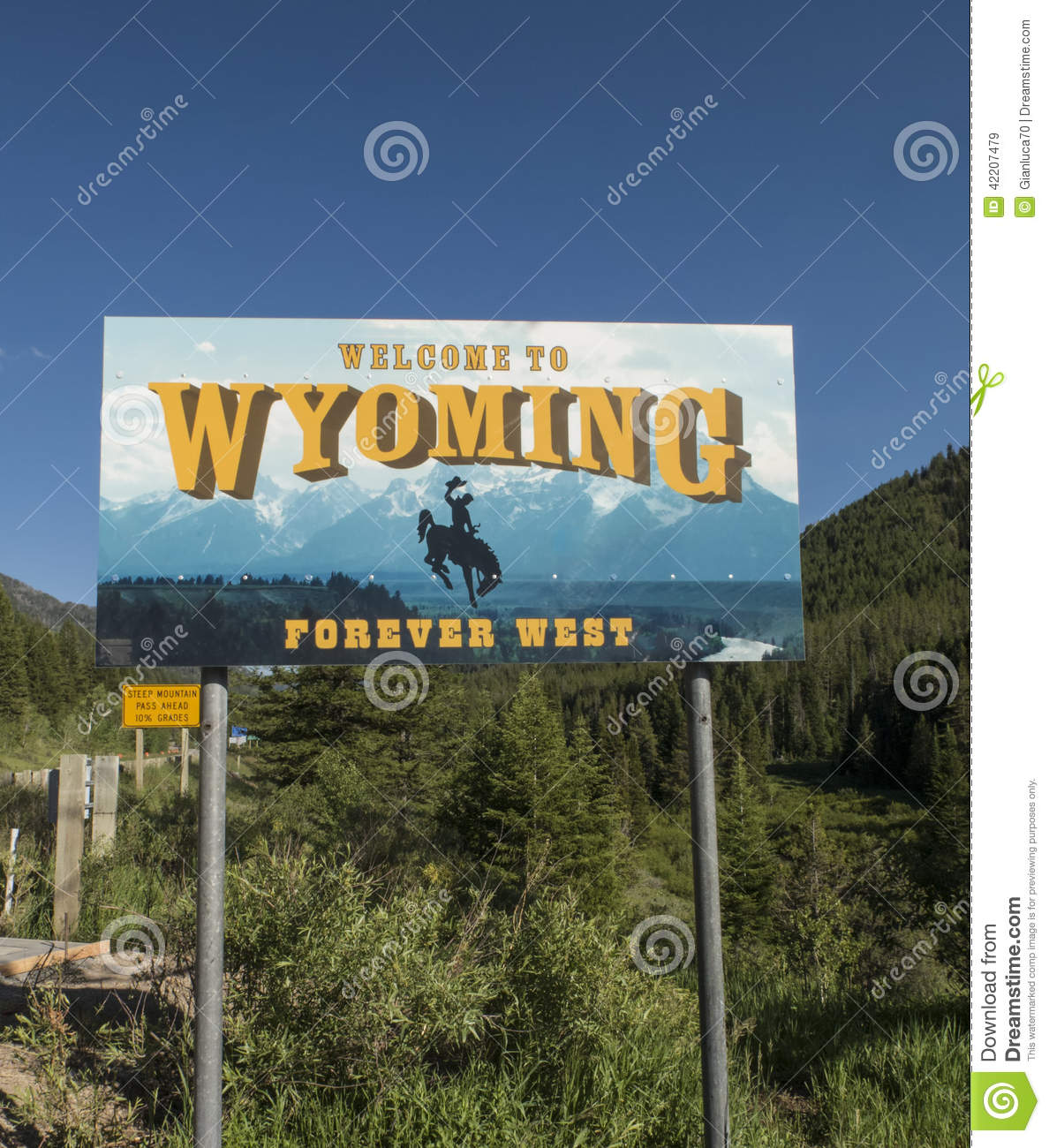 Welcome to Wyoming Sign