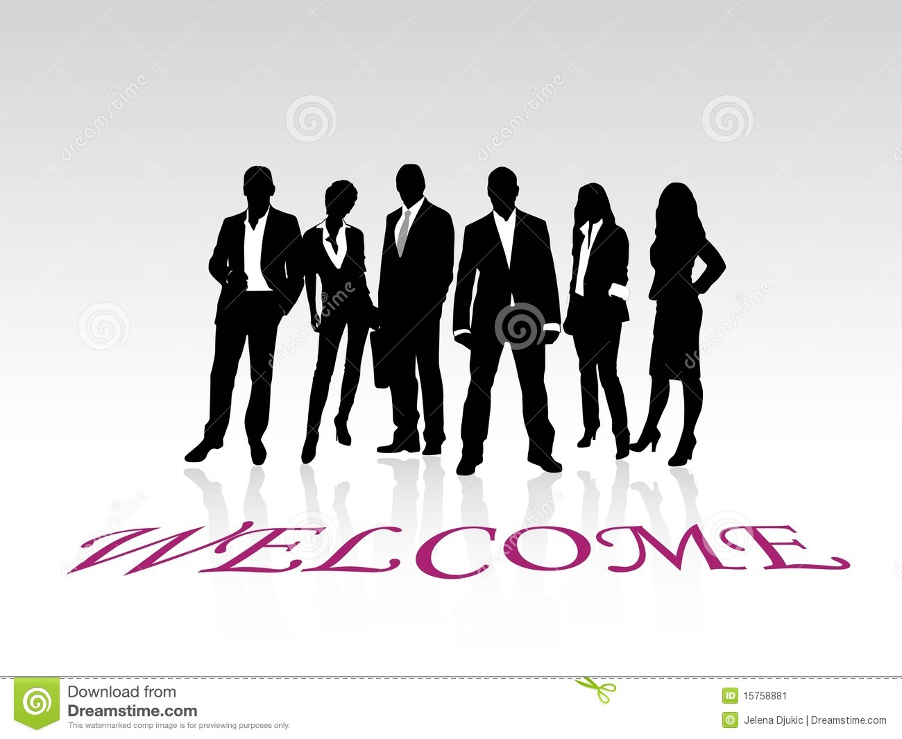 Welcome vector stock vector. Illustration of corporate ...
