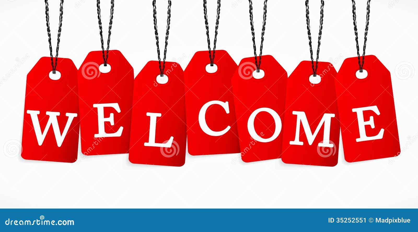 Welcome Stock Image Image 35252551